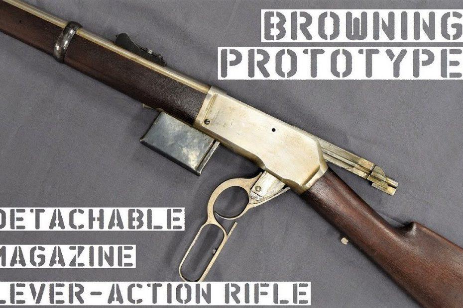 TAB Episode 53: Browning Prototypes – Detachable Box Magazine Lever Action Rifle