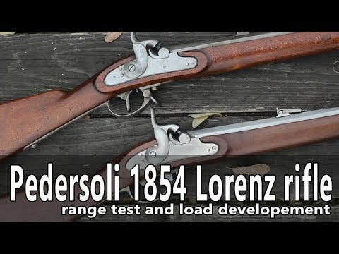 Shooting the Pedersoli 1854 Lorenz rifle musket