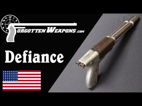 "California Arms Co 20ga ""Defiance"" Pistol-Shotgun"