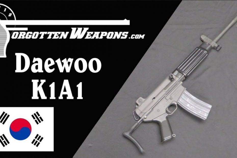 Daewoo K1A1: A Hybrid AR-15 and AR-18