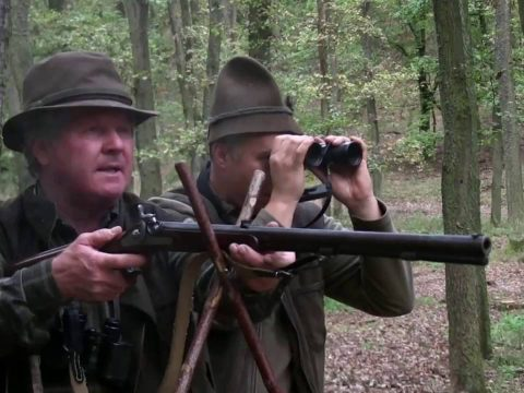 19th century muzzleloading rifle vs World War II tank