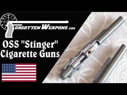 """OSS """"Stinger"""" Covert Cigarette Guns"""