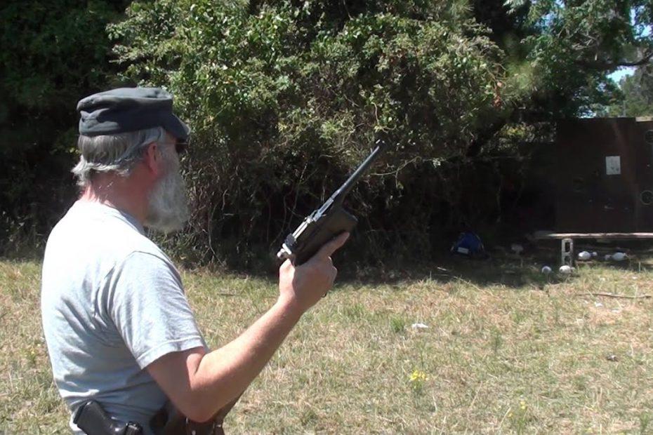 "C96 Mauser Broomhandle ""Red 9"" Pistol in 9mm"