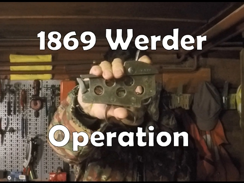 Bavarian 1869 Werder Mechanics for Connoissnerds
