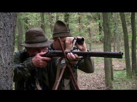 Elöltöltő fegyveres dámbika vadászat Gyulajon