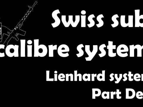 Swiss Sub-Calibre Systems: More Lienhards!