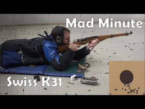 Mad Minute Series: Swiss K31 straight pull