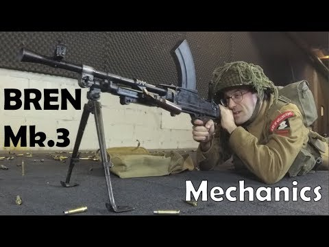 Lightweight .303 British BREN Mk.3 LMG Mechanics
