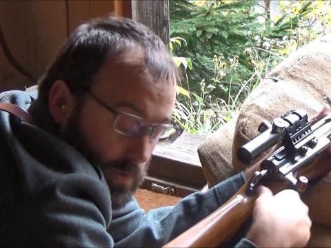 Ersatz WW1 sniper rifle project #2: 300m test