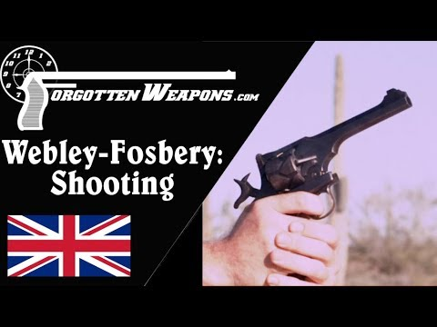 Shooting the Webley-Fosbery Automatic Revolver – Including Safety PSA