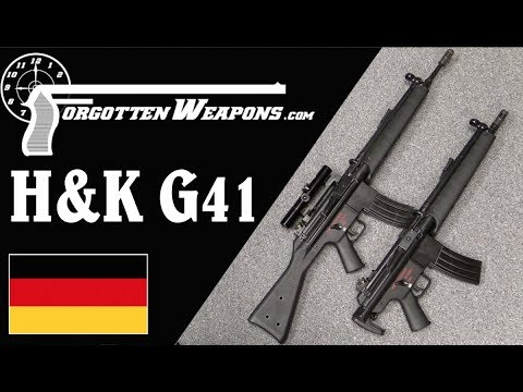 H&K G41: The HK33 Meets the M16