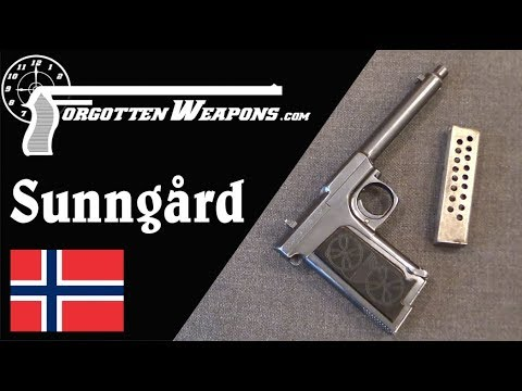 Sunngård Automatic Pistol: 50 Rounds in 1909
