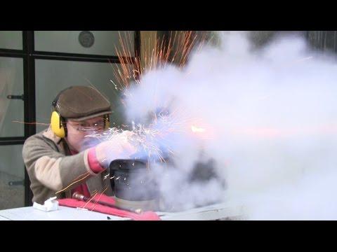 Shooting the Augustin tube lock pistol