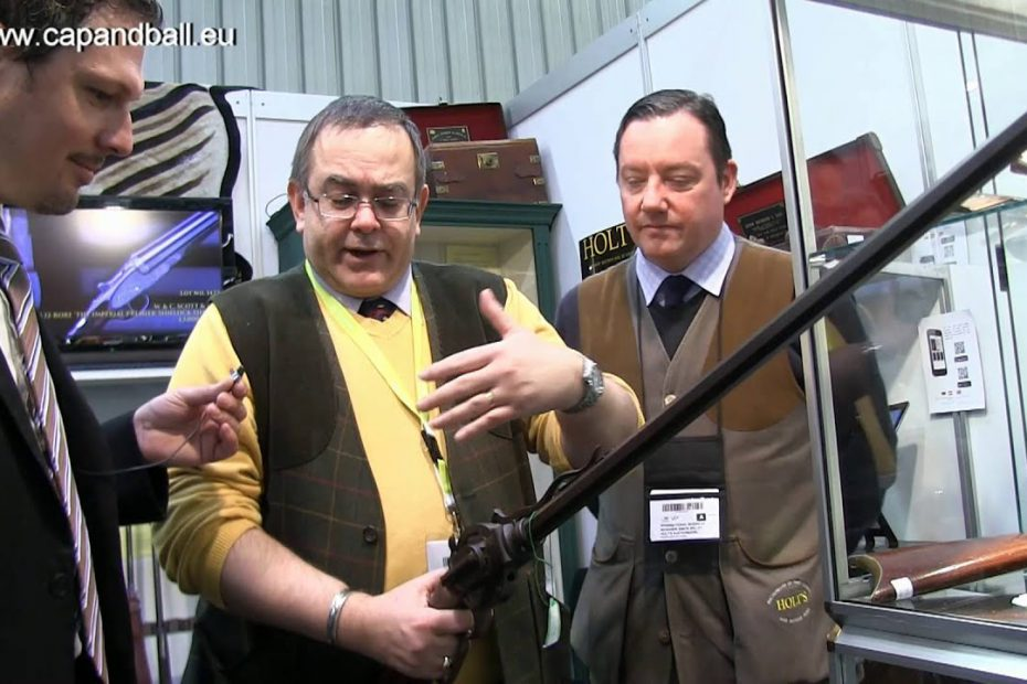 Volcanic pistol and rifle, Porter turret rifle at Holt's Booth – IWA 2016