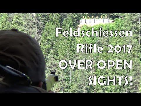 Rifle Feldschiessen 2017 with… K11's over open sights!