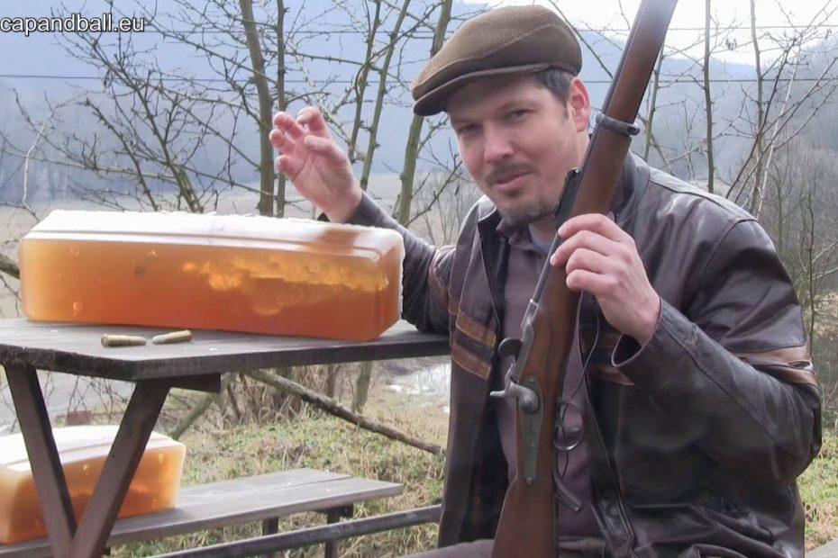 Ballistic gelatine tests of the M 1867/77 Werndl rifle