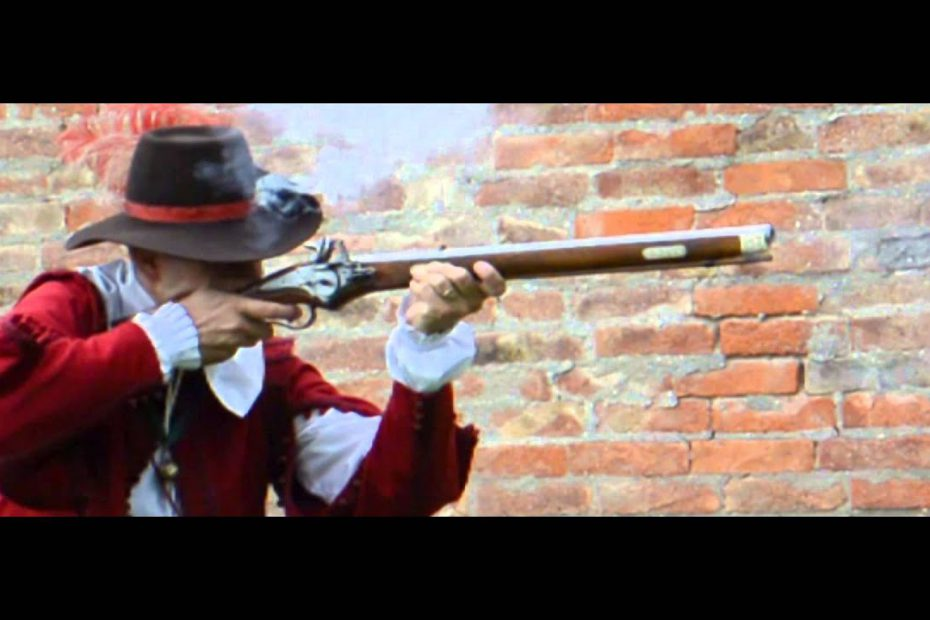 Lock times 3: Wheellock rifle in slow motion
