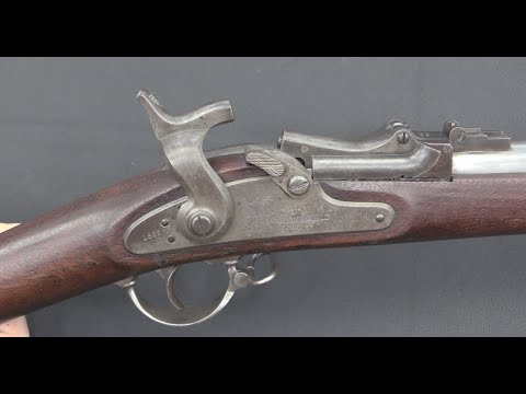 First Pattern 1865 Allin Conversion – Trapdoor Springfield