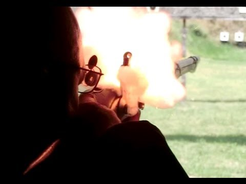 Extreme slow motion flintlock rifles and muskets