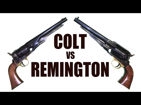 Colt vs. Remington: Revolving Rivals