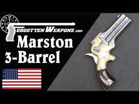Marston 3-Barrel Selectable Pocket Derringer