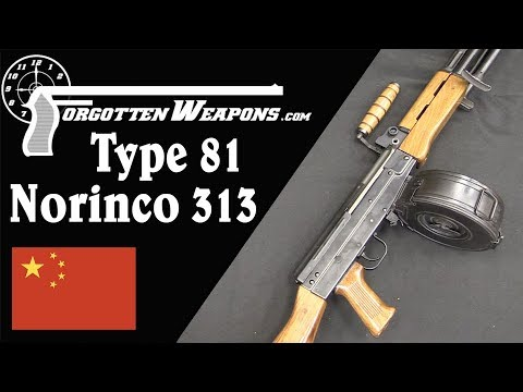 The Type 81 LMG in Civilian Form: Norinco Model 313