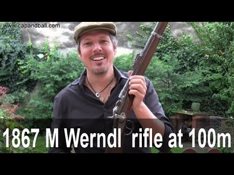 1867/77 Werndl rifle accuracy at 100m