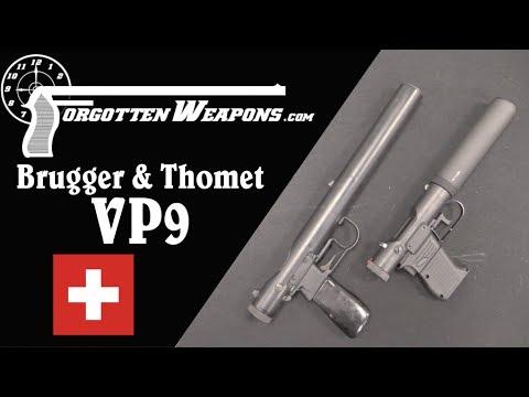 B&T VP9 Silenced Pistol: A Modern Welrod