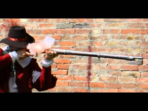 Lock times 5: Flintlock musket in slow motion