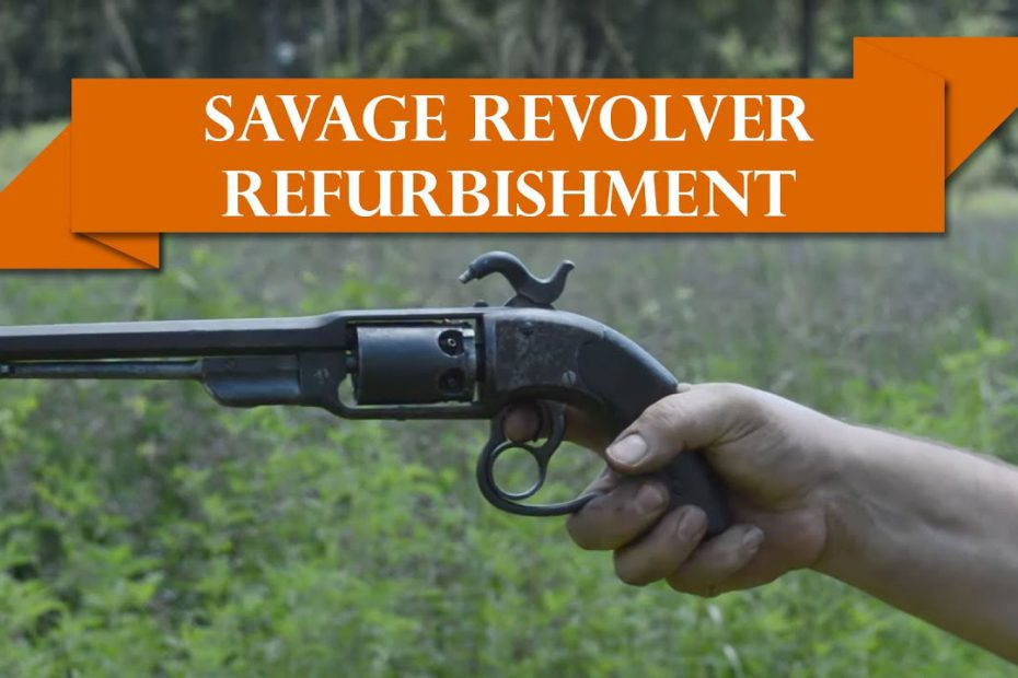 Anvil 067: Savage Revolver Refurbishment