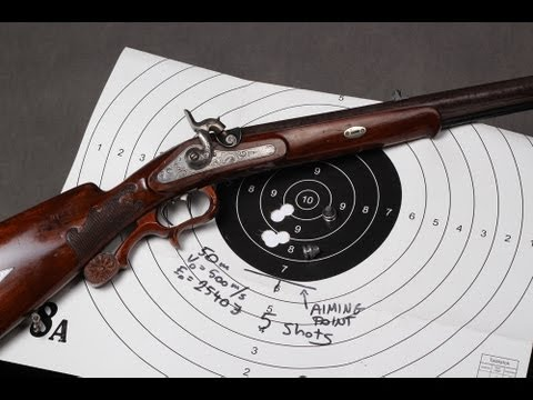 Hunting load for an antique muzzleloading rifle
