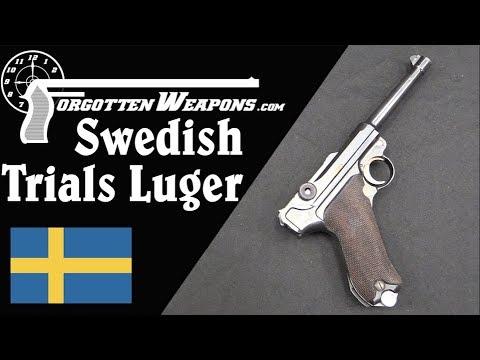 1938 Swedish Army Trials Luger
