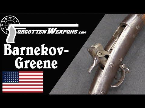 Barnekov Greene Prototype 1870 Open-Bolt Army Rifle