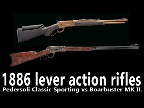 1886 lever action rifles by Pedersoli: past and future meets