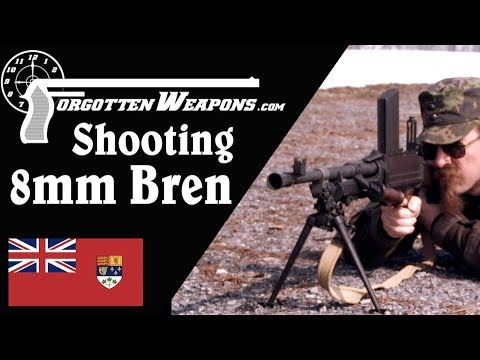 Shooting the Inglis 8mm Bren Gun