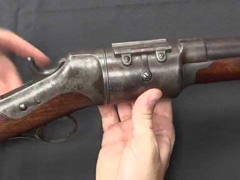 Roper Revolving Shotgun (now with dummy cartridges!)
