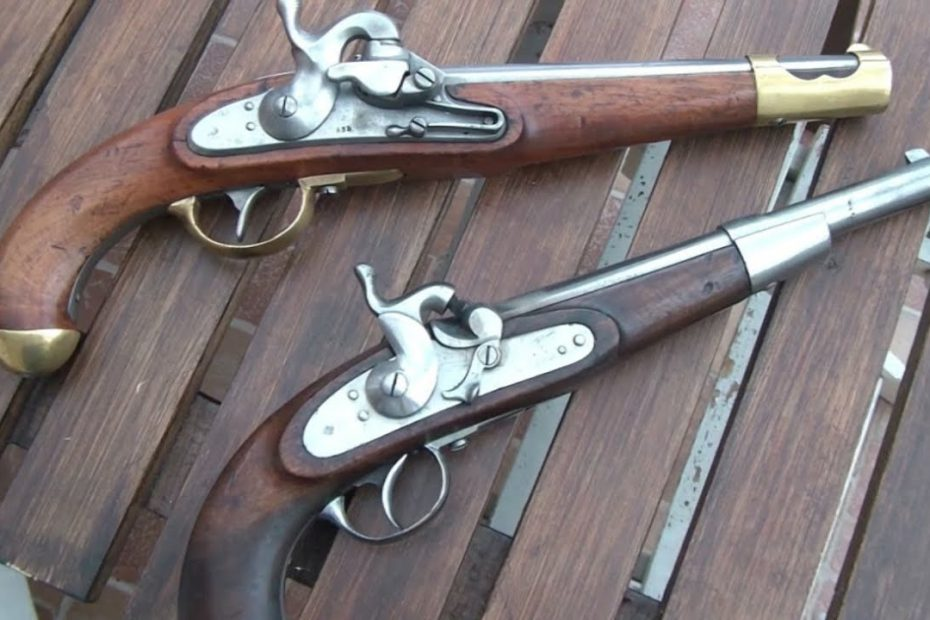 Shooting the last two muzzleloading pistols of the Hapsburg Monarchy