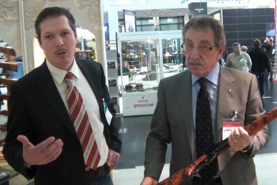 IWA 2012 – Pedersoli's new products
