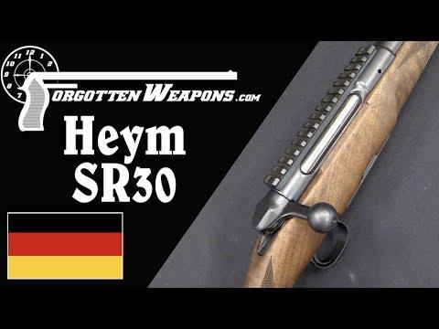 Heym SR30: Straight Pull Ball-Bearing Lock?