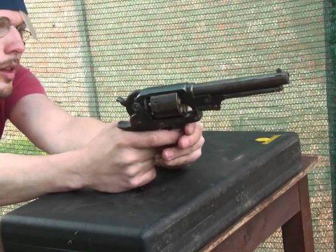 Original Starr DA percussion revolver vs Pietta replica
