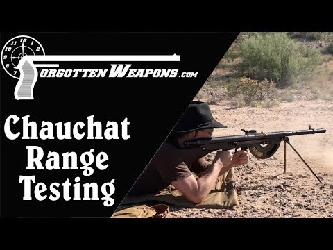 8mm M1915 Chauchat Fixing and Range Testing