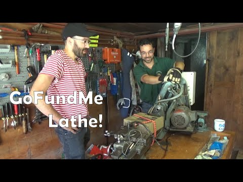 A BotR Road Trip To Pick Up The Chap's GoFundMe Myford ML7 Lathe!