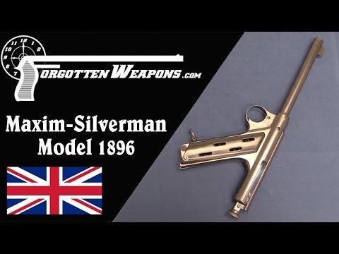 Maxim Silverman Model 1896 Automatic Pistol