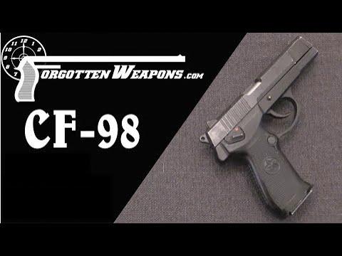 China's CF-98 Service Pistol