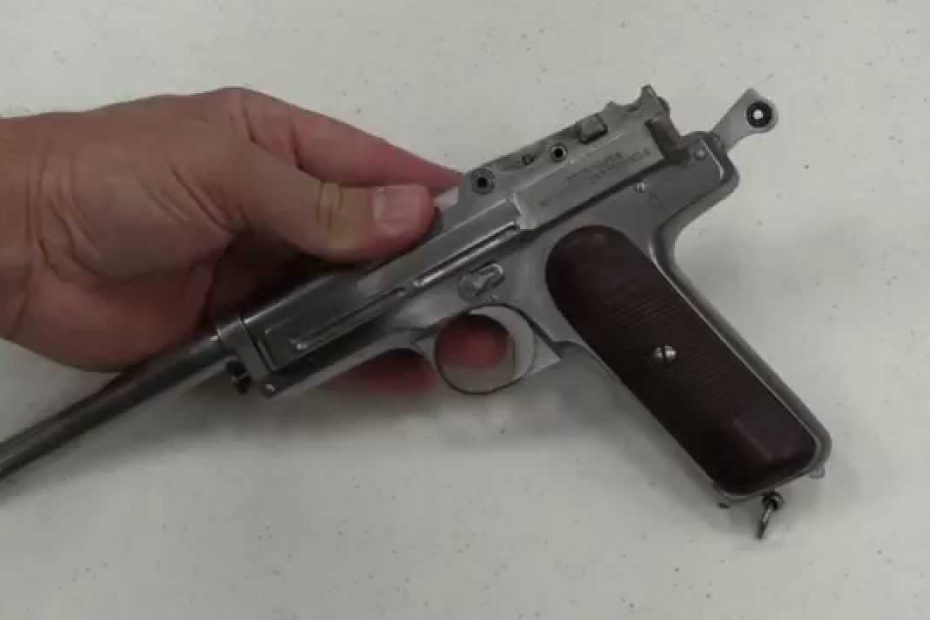 Chinese Mystery Pistol