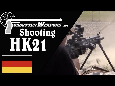 Shooting the HK21 Modular Machine Gun