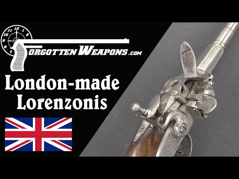 London-Made Lorenzonis Repeating Flintlocks