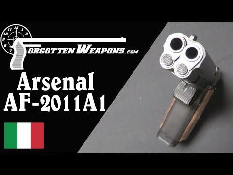 Arsenal AF2011: A Double Barreled 1911 Monster Pistol