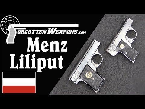 Menz Liliput Pocket Pistols: 4.25mm and 6.35mm