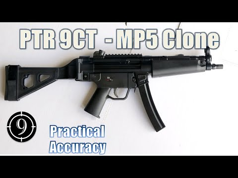 MP5 Clone PTR 9CT – Close Range Practical Accuracy